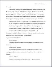 Apa Format Essay Exle Paper by Apa Style Sle Papers 6th And 5th Edition