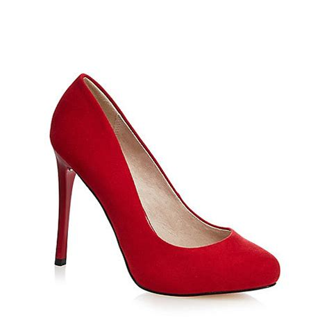 faith high heel wide fit court shoes debenhams