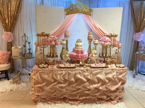 princess theme baby shower decoration ideas princess baby shower baby shower ideas photo 1 of
