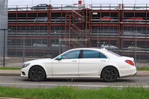 2020 Mercedes S Class by Spyshots 2020 Mercedes S Class W223 Mule Spied For The