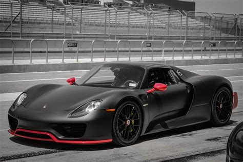 custom porsche 918 porsche 918 spyder spotted at the circuit of the americas