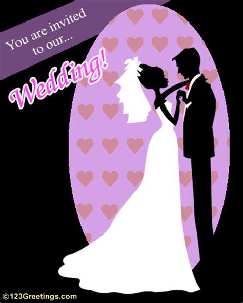 animated wedding invitation ecards free an invitation to our wedding free wedding ecards