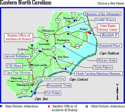 map eastern carolina eastern carolina