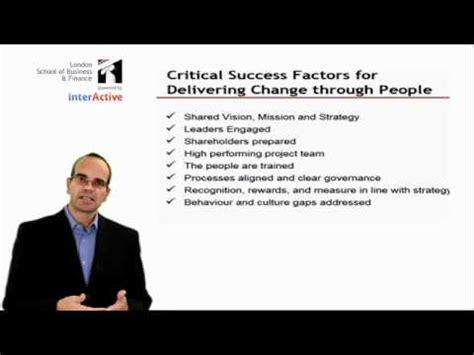 Lsbf Global Mba by Lsbf Global Mba Lecture In Managing Change