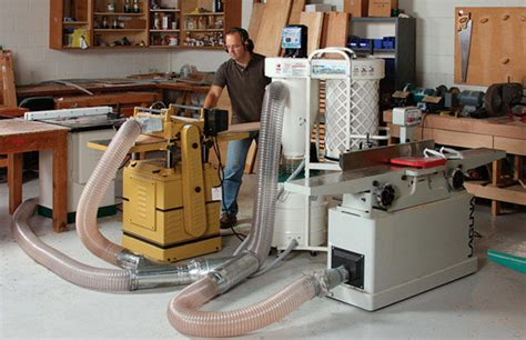 cabinet shop dust collection systems all about dust collection finewoodworking