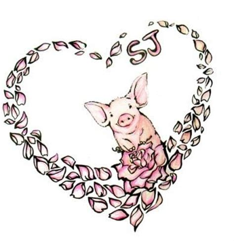 pig tattoo designs 25 best ideas about pig tattoos on vegan