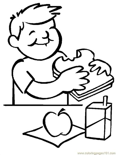 school lunch coloring page coloring pages lunch education gt school free printable