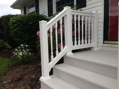 outdoor banister look attractive exterior stair railing kits founder