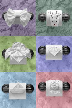 Make Your Toilet Paper Chic With Origami by Folded Towels For More Great Ideas To Make Your Boutique