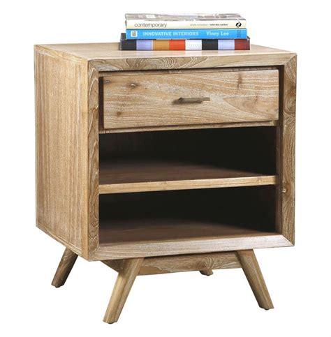 whitewashed nightstand cape cod whitewash coastal modern wood nightstand