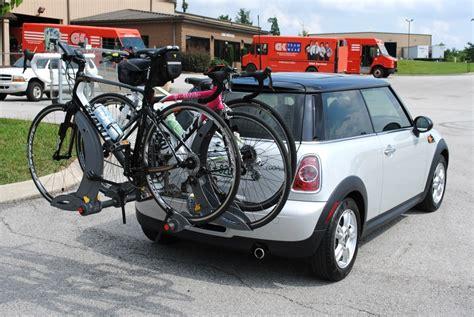 Mini Cooper Bike Rack Roof by Mini Cooper Bike Rack Images