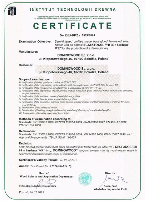woodworking certificate programs certificates dominowood scantlings windows and doors