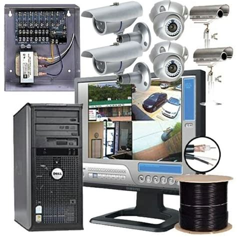 steps in installing home security system ip security