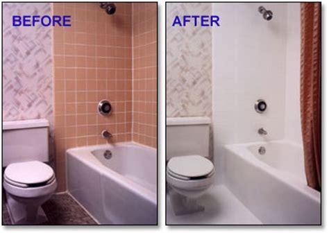 resurfacing bathrooms pro tub resurfacing