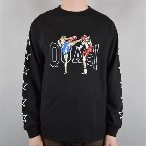 Tshirt K O quasi skateboards k o longsleeve t shirt black skate