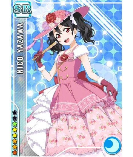 Dress Niko Pink live new card nico yazawa awakening pink dress