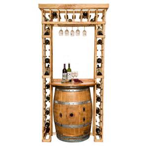 wine barrel furniture wine rack images