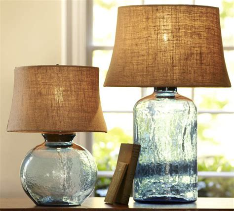 Pottery Barn Light by Colored Glass Table Ls From Pottery Barn Clift