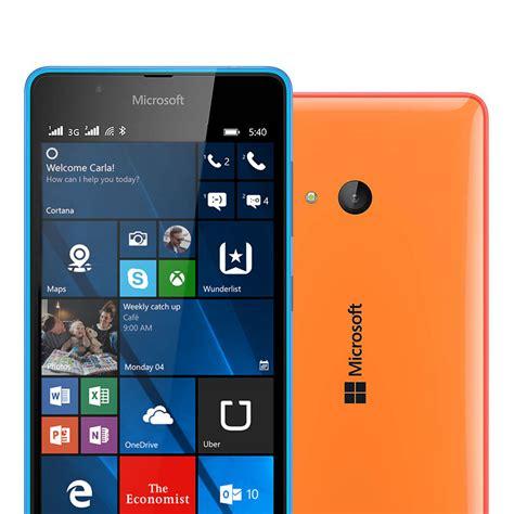 lumia with dual microsoft lumia 540 dual sim smartphones microsoft