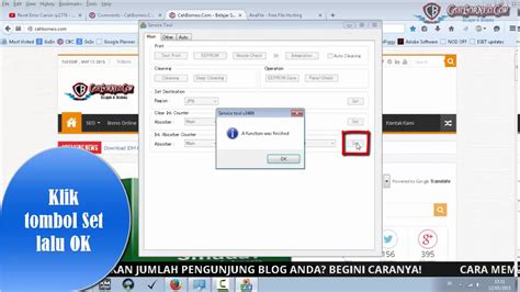 mengatasi resetter ip2770 not responding reset printer canon ip2770 dengan software resetter youtube