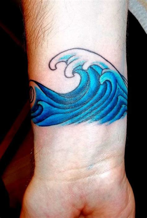 wave on wave tattoos sea waves and