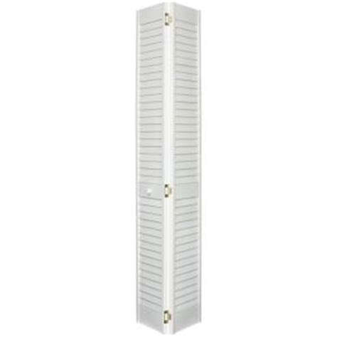 Louvered Interior Doors Home Depot Home Fashion Technologies 30 In X 80 In 2 In Louver Louver Primed Solid Wood Interior Closet