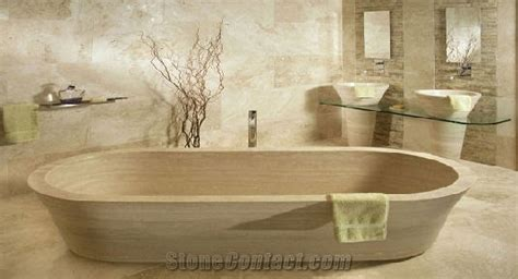 beige bathtub beige travertine bath tub from ireland 23312