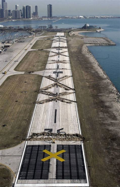 haircut chicago airport meigs field the difference ten years makes chicago tribune