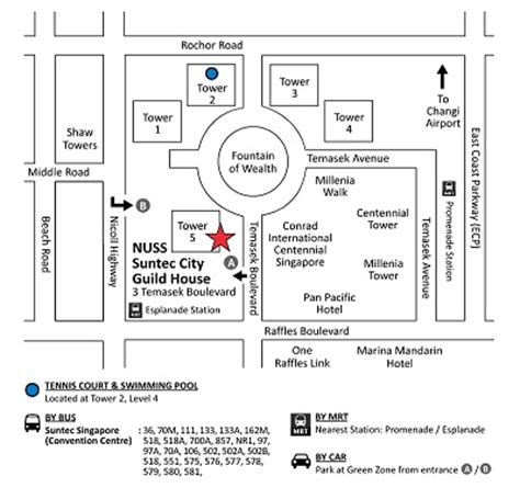 suntec city mall floor plan located in the heart of the city suntec city guild house
