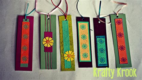 Bookmarks Handmade - krafty krook bookworms for bookworms handmade bookmarks