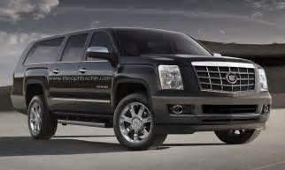 Cadillac Escalade News Rendering New Cadillac Escalade