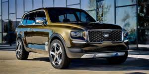 kia motors shows possible large suv 183 new suvs cars