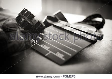 film reel and movie clapper board. video icon. 3d render