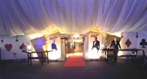 casino themed corporate events james bond themed events parties in norwich norfolk
