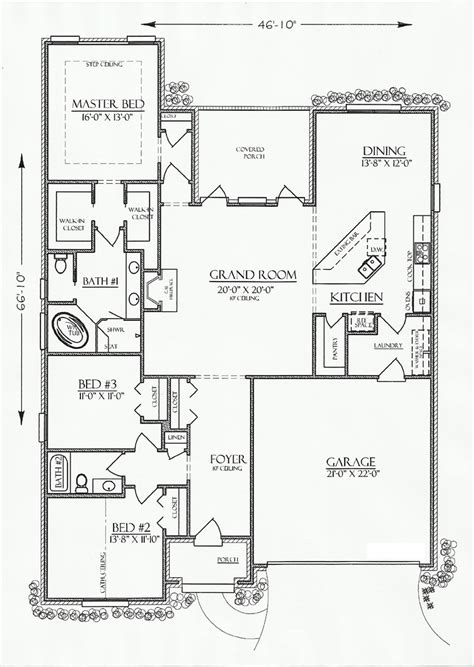 country cottage floor plans