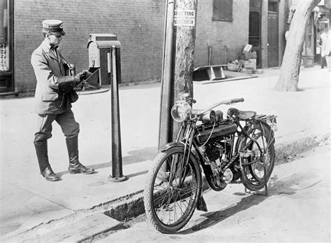 motorcycles of the 20th century a u s postal worker of the early 20th century made his
