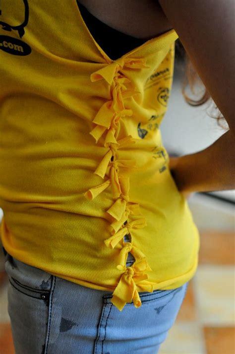clothes design cutting 25 diy t shirt cutting ideas for girls hative
