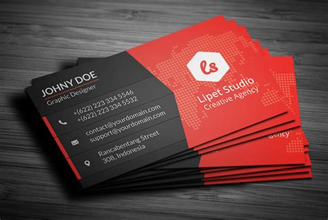 free advertising business card template key modern business card template v3 suave digital