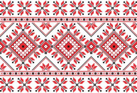 ukraine pattern vector ukraine style fabric ornaments vector graphics 11 vector