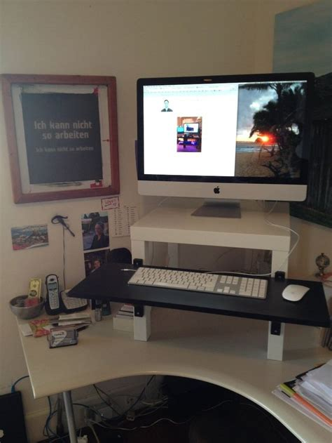 Do It Yourself Standing Desk Http Twitter Com Do It Yourself Stand Up Desk
