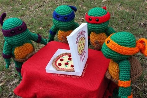 free pattern ninja turtle ninja crochet pattern free tutorials and great ideas the