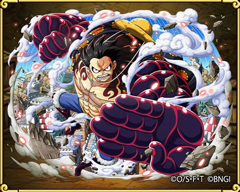 anime pirates haki guide monkey d luffy gear four bounceman one piece