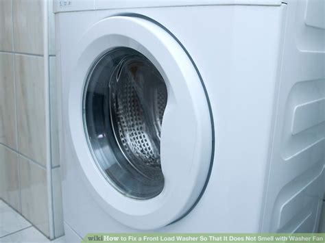 front load washer fan how to fix a front load washer so that it does not smell