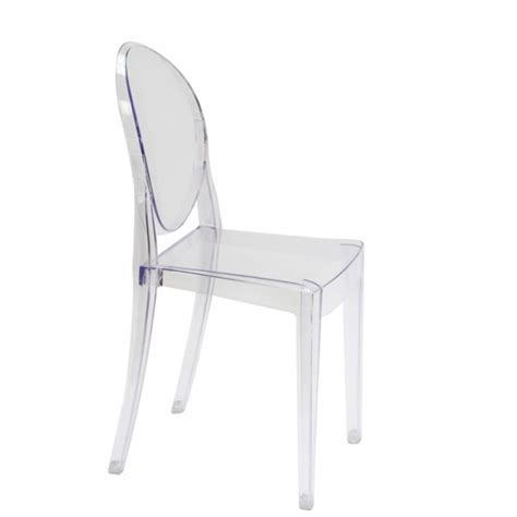 Ghost Chair Dining Set Set Of 4 Style Ghost Dining Chair Clear Color