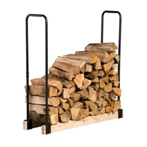 Home Depot Log Rack by Pleasant Hearth Firewood Rack Bracket Kit Discontinued Ls001 The Home Depot