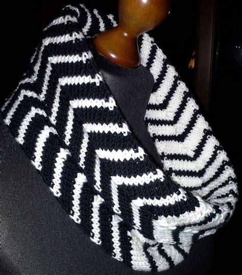 free knitting patterns scarves pinterest chevron tube cowl by plymouth yarn design studio free