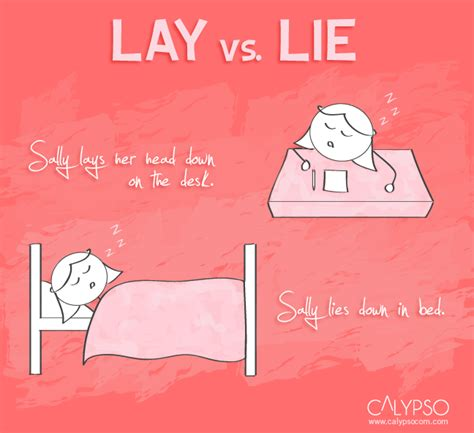 Lay On The by Lie Sally Lie Vs Lay Images Frompo