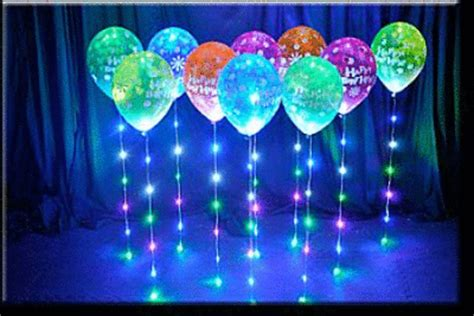 led sparkle ribbon fantastic party decoration used with
