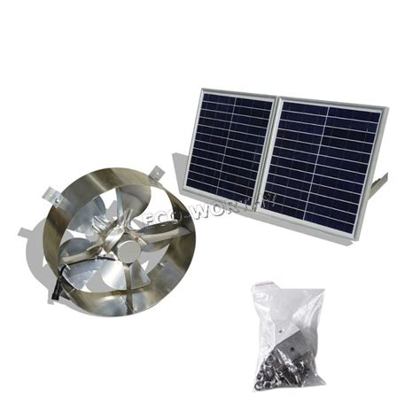 solar powered roof fan 25w solar powered attic ventilator gable roof vent fan w
