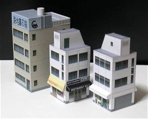 Paper Craft Building - papercraft